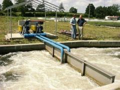 Насыщение кислородом воды для выращивания форели