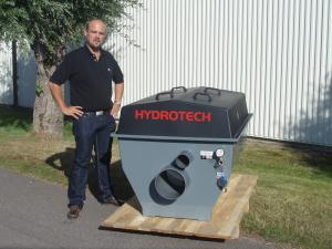 Новая модель барабанного фильтра Hydrotech 1G поступила в продажу